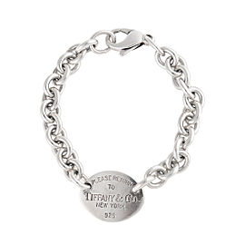 Tiffany & Co. Sterling Silver Return To Tiffany Oval Link Bracelet