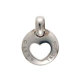 Tiffany & Co. 925 Sterling Silver Heart Stencil Pendant
