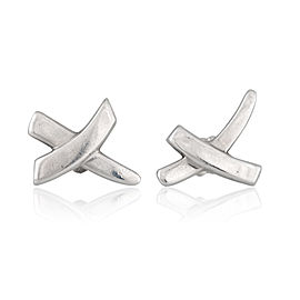 Tiffany & Co. 925 Sterling Silver X Earrings