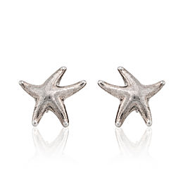 Tiffany & Co. Sterling Silver Starfish Earrings