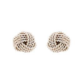 Tiffany & Co. Twist Knot Sterling Silver Earrings