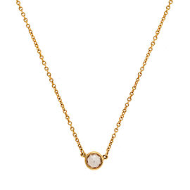 Tiffany & Co. 18K Yellow Gold 0.37ctw Diamond Necklace