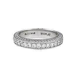 Platinum 1.76ctw Diamond Ring Size 4.75