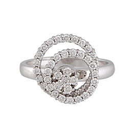 Teufel 14K White Gold with 0.67ctw Diamond Spinner Ring Size 6