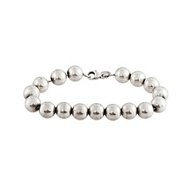 Tiffany & Co. 925 Sterling Silver Beaded Bracelet
