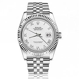 Rolex Datejust Stainless Steel White Color 116234