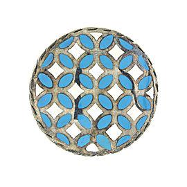 John Hardy Enamel Disk Kawung Ring