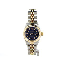 Rolex Oyster Perpetual 67193 Vintage 24mm Womens Watch
