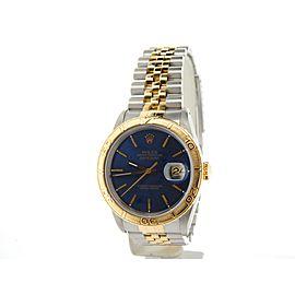 Rolex Datejust Turn-O-Graph 16233 36mm Mens Watch