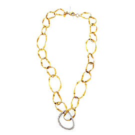 14K Yellow Gold 0.50ct. Diamond Necklace
