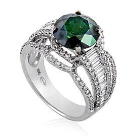 Legato 18K White Gold with Diamond Ring Size 7.25