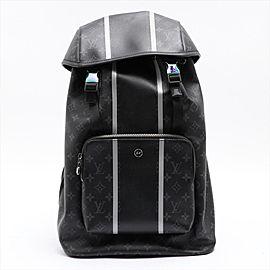 Louis Vuitton Fragment Black Eclipse Monogram Zack Backpack 1lm32lv