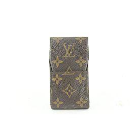 Louis Vuitton Monogram Mobile Etui Phone Case or Cigarette Holder 1lvs622
