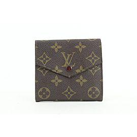 Louis Vuitton Monogram Elise Compact Snap Wallet 438lv61