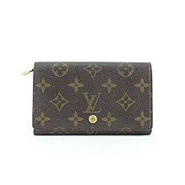 Louis Vuitton Monogram Snap Compact Wallet 440lvs61