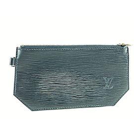 Louis Vuitton Black Epi Noir Leather 9l859