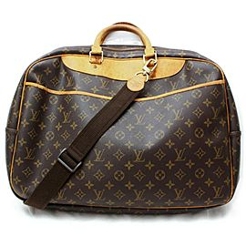 Louis Vuitton Monogram Alize 2 Poches Luggage with Strap 860376