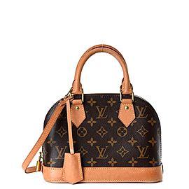 Louis Vuitton Monogram Alma BB with Bandouliere Strap 861618