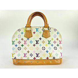 Louis Vuitton Monogram Multicolor Blanc Alma PM 861821