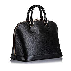 Louis Vuitton Black Epi Leather Noir Alma PM 6LVA923