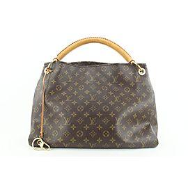 Louis Vuitton HARD TO FIND Monogram Artsy MM Hobo Bag
