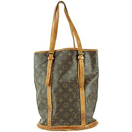 Louis Vuitton Monogram Marais Bucket GM Tote Bag 1LVL1127