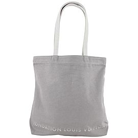 Louis Vuitton Fondation Grey Tote Bag 566lvs614