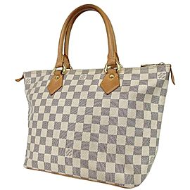 Louis Vuitton Damier Azur Saleya PM Zip Tote Bag 860L12