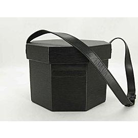 Louis Vuitton Beauty Case Nice 872336 Noir Octagonal Boite Vanity Black Epi Leather Shoulder Bag