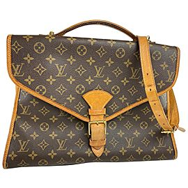 Louis Vuitton Bel Air Beverly Monogram Gm Ivy 22lv617 Brown Coated Canvas Messenger Bag