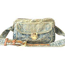 Louis Vuitton 232312 Denim Outdoor Bumbag Fanny Pack Belt Bag Waist Pouch