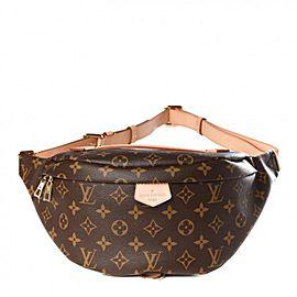 Louis Vuitton Monogram Bumbag Wait Pouch Fanny Pack Belt Bag 861650