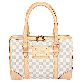 Louis Vuitton Damier Azur Berkeley Boston 860760