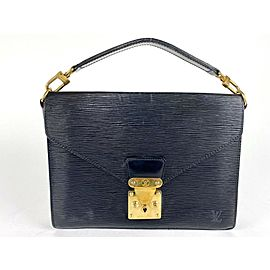 Louis Vuitton Biface Noir Epi Black Satchel 2la510