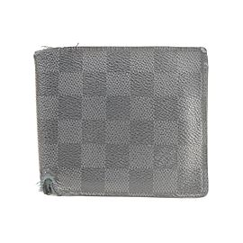 Louis Vuitton 17LK0120 Damier Graphite Men's Bifold Wallet