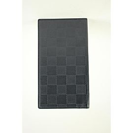 Louis Vuitton Black Damier Infini Leather Pocket Agenda Cover 5lva11617 Wallet