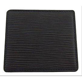 Louis Vuitton Black Box Epi Noir Mini Boite Leather 207378 Coin Change Wallet