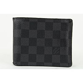 Louis Vuitton Black Damier Graphite Multiple Slender Marco Florin Wallet 10lvs1224