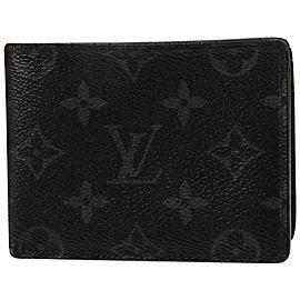 Louis Vuitton Monogram Eclipse Multiple Wallet Florin Slender 857904