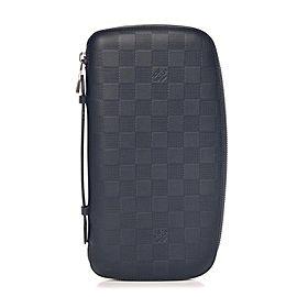Louis Vuitton Damier Infini Atoll Onyx Black Leather XL Organizer 860171