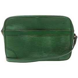 Louis Vuitton Green Epi Leather Borneo Trocadero Crossbody Bag 863118