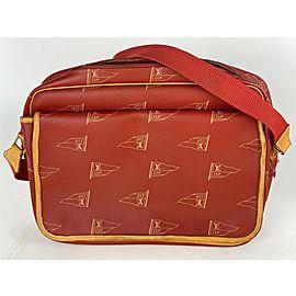 Louis Vuitton Red LV Cup Bosphore Calvi Limited Messenger 20lva62
