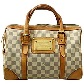 Louis Vuitton Damier Azur Berkeley Boston Bag 861359