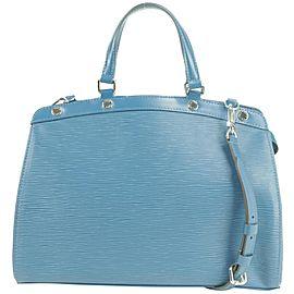 Louis Vuitton Brea Saphir Epi 2way 34lvty51717 Blue Leather Shoulder Bag