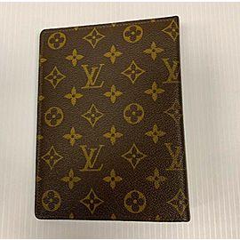 Louis Vuitton 14 Ring Medium Binder Agenda Cover Book Cover 872738