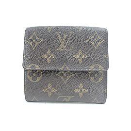 Louis Vuitton 16LK0120 Monogram Elise Compact Trifold Wallet