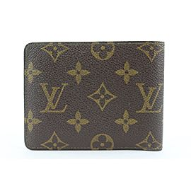 Louis Vuitton Monogram Multiple Bifold Men's Wallet Slender Multiple 23lk0128