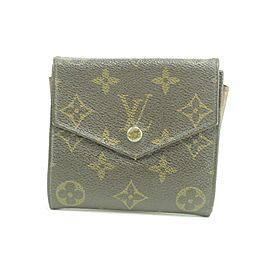Louis Vuitton 24LK0110 Monogram Elipse Snap Compact Wallet