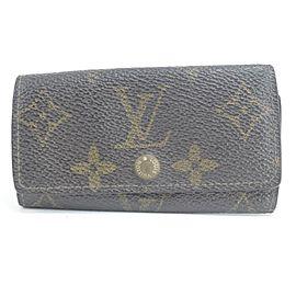 Louis Vuitton 4 key Case Multicles Monogram 16LK0122