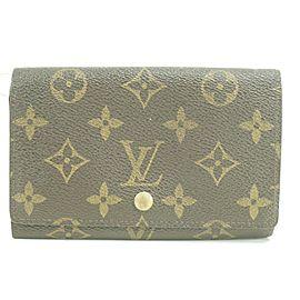 Louis Vuitton 50LK0109 Monogram Bifold Snap Wallet